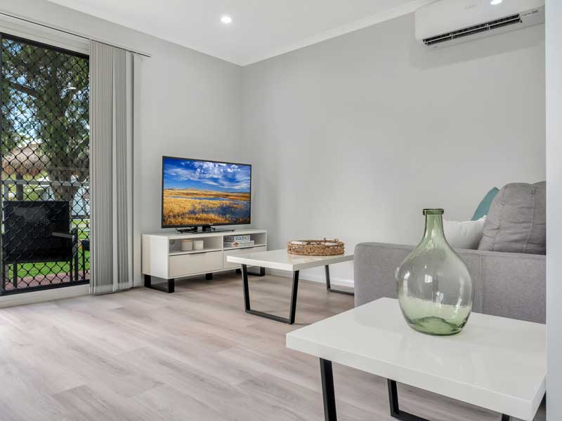Brisbane North Rental Village Condo TV