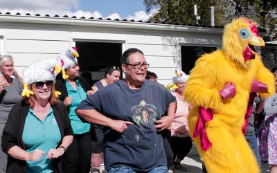 Brisbane North residents Dance for Sick Kids